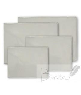 U formos vokelis darbo pažymėjimui 74 x 105 mm, plastikinis, skaidrus