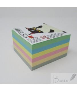 Lapeliai užrašams COLLEGE,90 x 90 mm, klijuoti, spalvoti, 500 vnt.