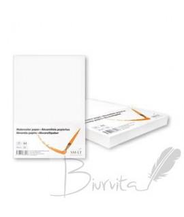 Popierius akvarelei SMILTAINIS,A4, 200 g/m2, 100 lapų