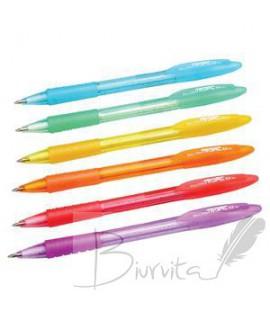 Tušinukas CENTRUM TROPIC,0,5 mm,Korpusai įvairių spalvų, tušas mėlynas
