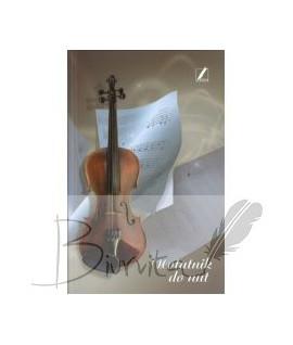 Natų sąsiuvinis KRESKA, A5, 80 lapų, kietas viršelis