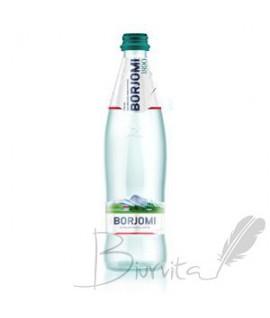 Mineralinis vanduo BORJOMI, 0,5 l . stiklas