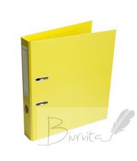 Segtuvas standartinis 5cm. A4 geltonas