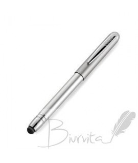 Antspaudas-rašiklis su jutikliniu rašikliu COLOP ALU Magnet, sidabro sp., juoda pagalvėlėKatalogas Prekė