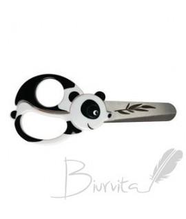 Vaikiškos žirklės FISKARS, su panda, 13 cm