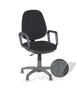 Biuro kėdė NICEDAY HUDSON juodos spalvos, PRISTATYMAS iki 21 d.