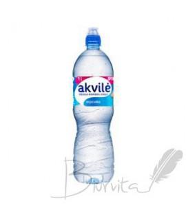 Natūralus mineralinis vanduo AKVILĖ Sport, negazuotas, 1 l, PET D