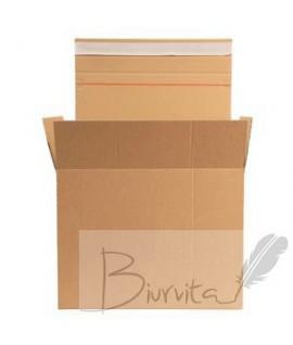 Pakavimo dėžė e-komecijai 285mm x 190mm x 180/150mm