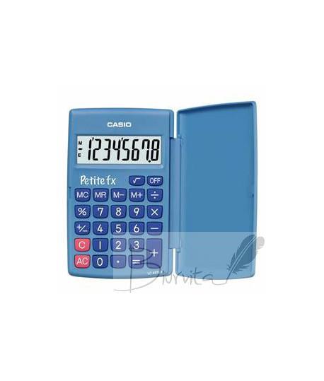 Mokyklinis skaičiuotuvas CASIO LC-401, 120 x 151.5 x 7.3 mm, mėlyna