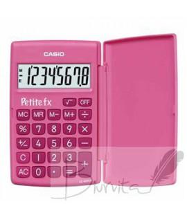 Mokyklinis skaičiuotuvas CASIO LC-401, 120 x 151.5 x 7.3 mm, rožinė
