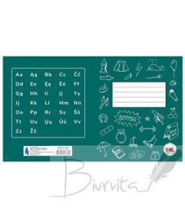 Sąsiuvinis TECHNOINFORM, 1 klasei, A5, 12 lapų, 70 gsm, linijomis