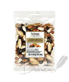 Riešutų ir razinų mišinys Studentų maistas, ARIMEX, 200 g