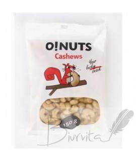 Anakardžių riešutai O!NUTS, 150 g